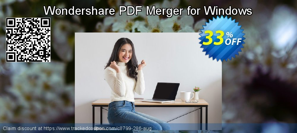 Wondershare PDF Merger for Windows coupon on Summer promotions