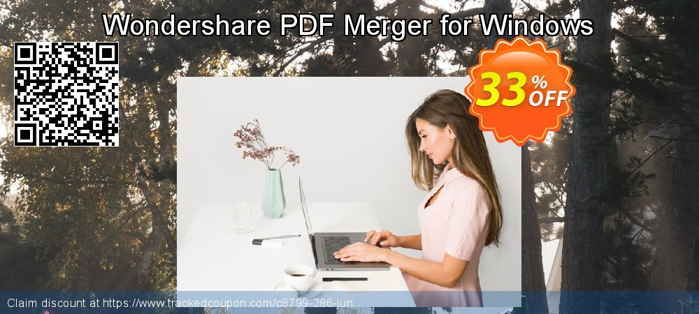 Wondershare PDF Merger for Windows coupon on Exclusive Student deals deals