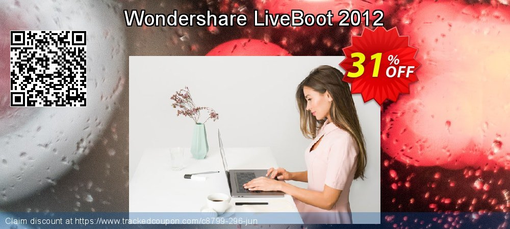 Wondershare LiveBoot 2012 coupon on Halloween offering discount