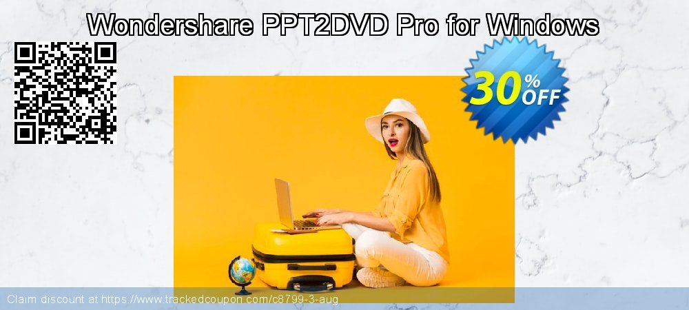 Wondershare PPT2DVD Pro for Windows coupon on Halloween promotions