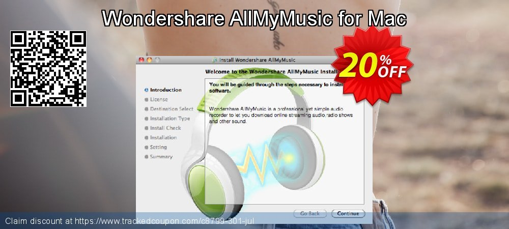 Wondershare AllMyMusic for Mac coupon on Halloween sales