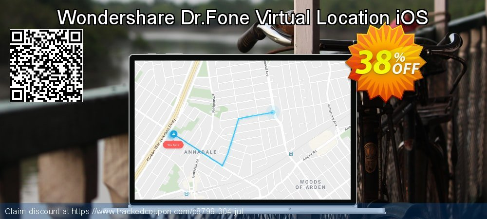 Wondershare Dr.Fone Virtual Location iOS coupon on Thanksgiving offering discount