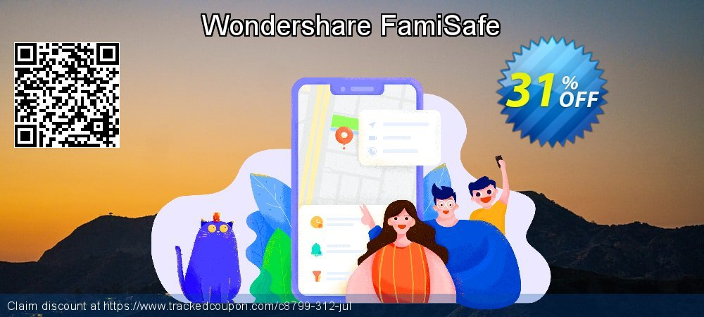 Wondershare FamiSafe coupon on New Year offer