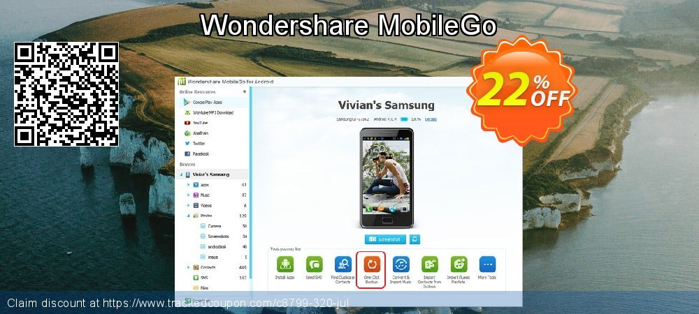 Wondershare MobileGo coupon on Father's Day sales