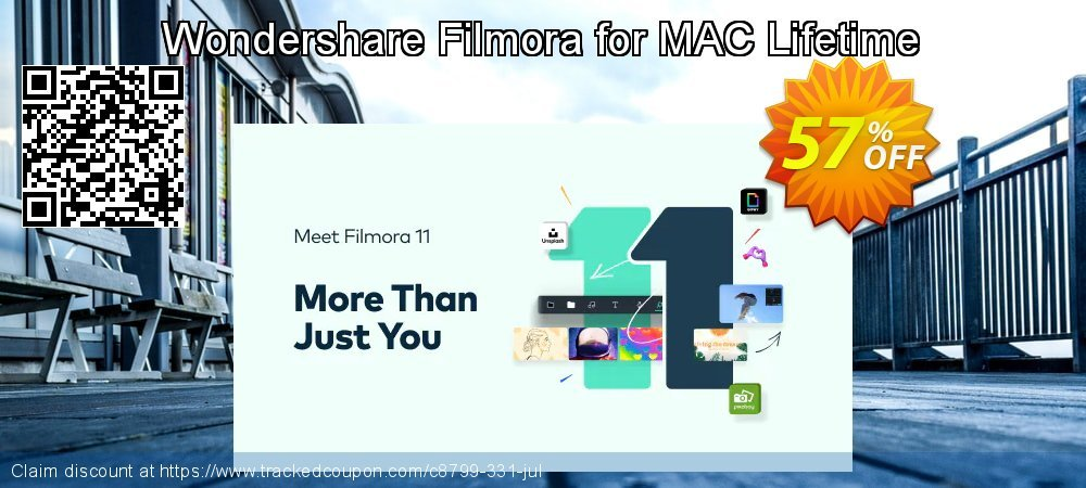 Wondershare Filmora9 for MAC Lifetime coupon on Back to School promotions deals