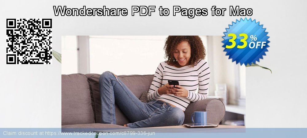 Wondershare PDF to Pages for Mac coupon on New Year promotions