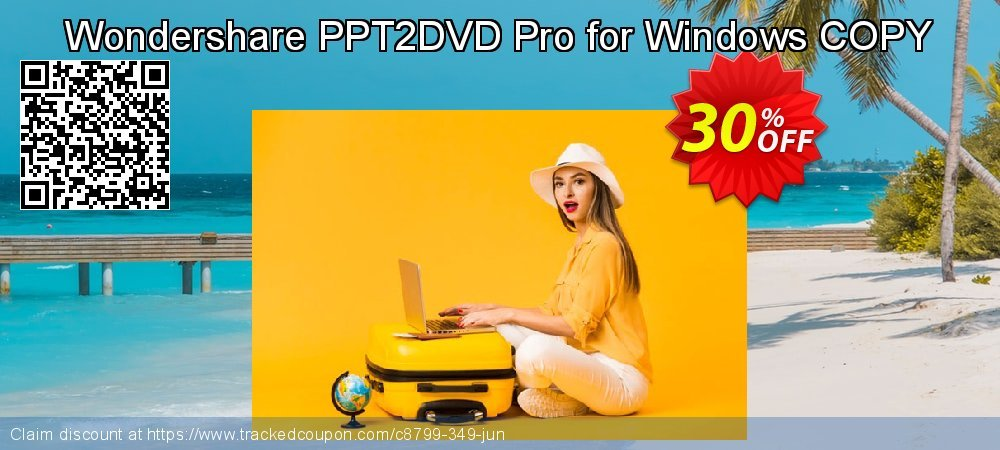 Wondershare PPT2DVD Pro for Windows COPY coupon on Halloween discount