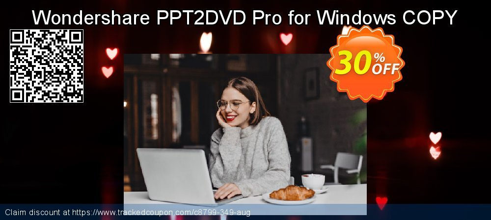Wondershare PPT2DVD Pro for Windows COPY coupon on New Year's Day discount