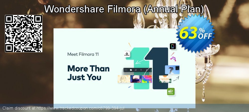 Wondershare Filmora9 - Annual Plan  coupon on Int. Workers' Day offering sales