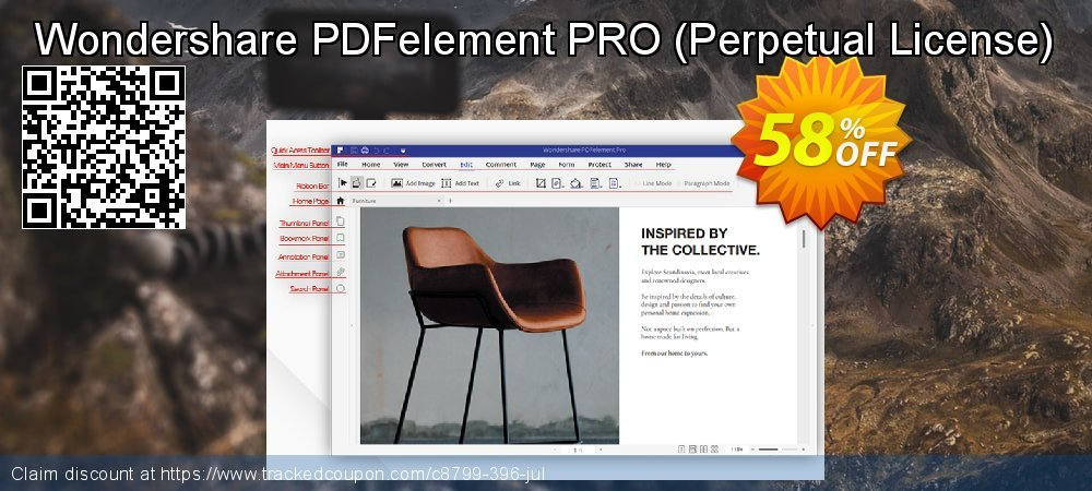 Wondershare PDFelement PRO - Perpetual License  coupon on Back to School promotion discount