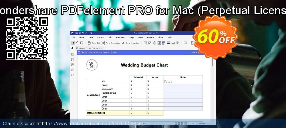 Wondershare PDFelement PRO for Mac - Perpetual License  coupon on Easter deals