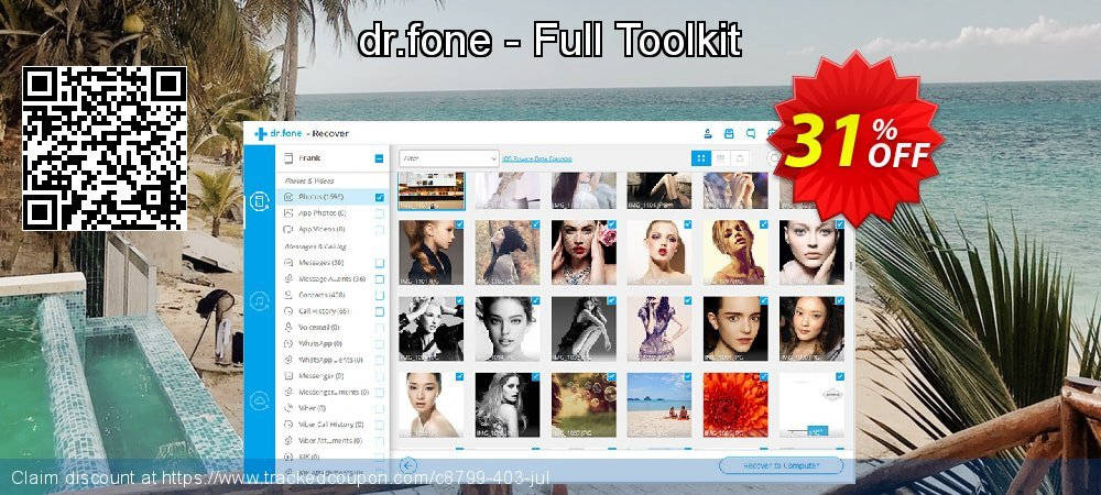 Claim 31% OFF dr.fone - Full Toolkit Coupon discount March, 2020
