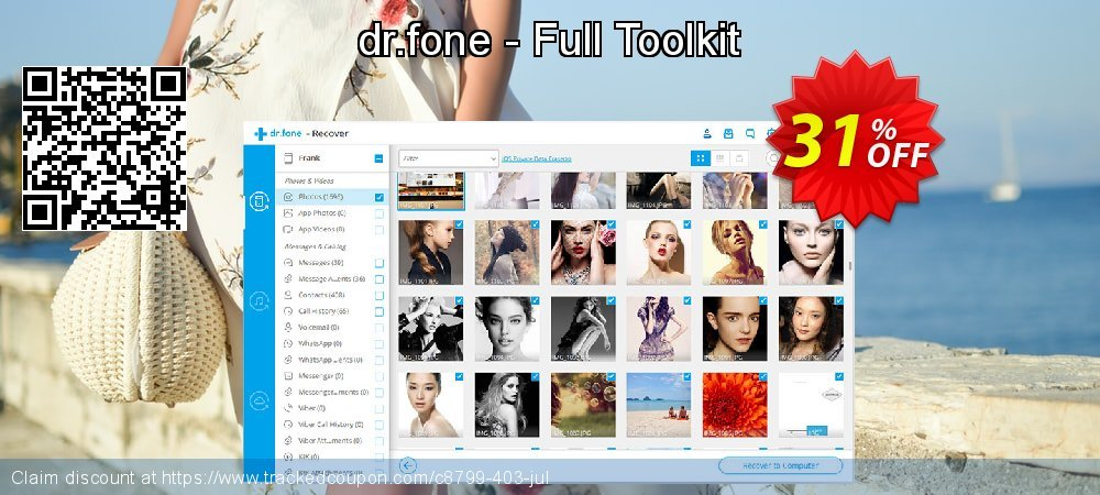 dr.fone - Full Toolkit coupon on Spring super sale
