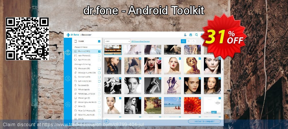 Claim 31% OFF dr.fone - Android Toolkit Coupon discount November, 2019