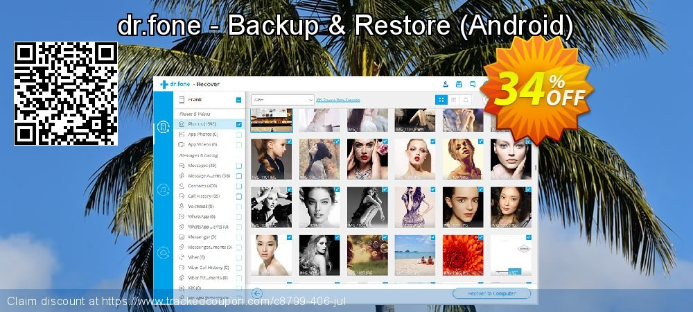 Claim 34% OFF dr.fone - Backup & Restore - Android Coupon discount March, 2020