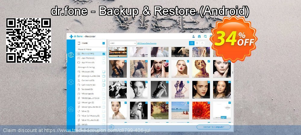 dr.fone - Backup & Restore - Android  coupon on Happy New Year super sale