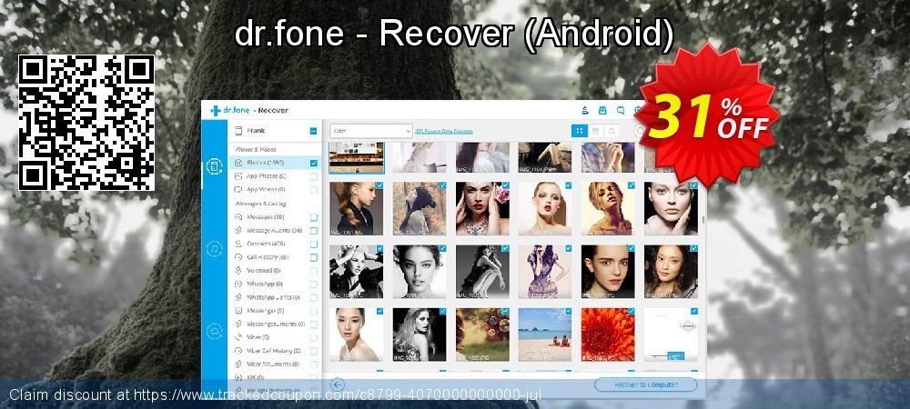 dr.fone - Recover (Android) coupon on Father's Day discount