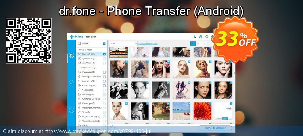 dr.fone - Phone Transfer - Android  coupon on Mid-year offering discount