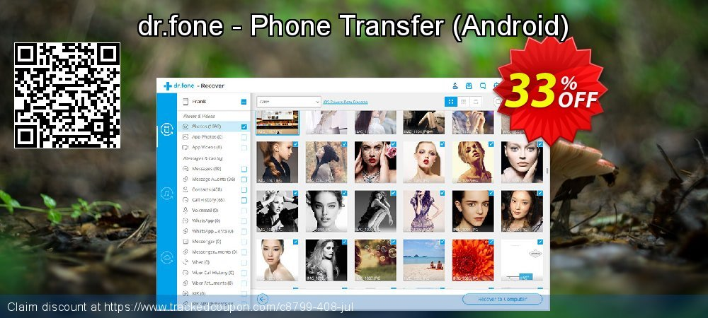 Claim 33% OFF dr.fone - Phone Transfer - Android Coupon discount November, 2020