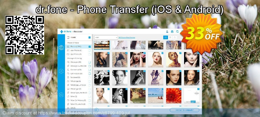 Claim 33% OFF dr.fone - Phone Transfer - iOS & Android Coupon discount March, 2020