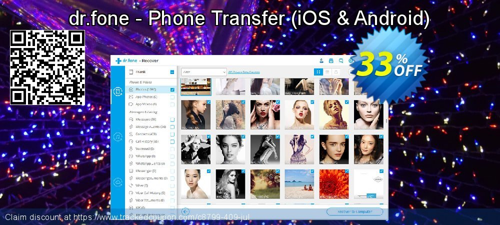 dr.fone - Phone Transfer - iOS & Android  coupon on New Year's Day sales