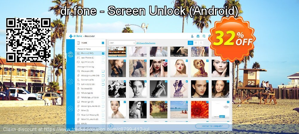 dr.fone - Screen Unlock - Android  coupon on Int. Workers' Day deals