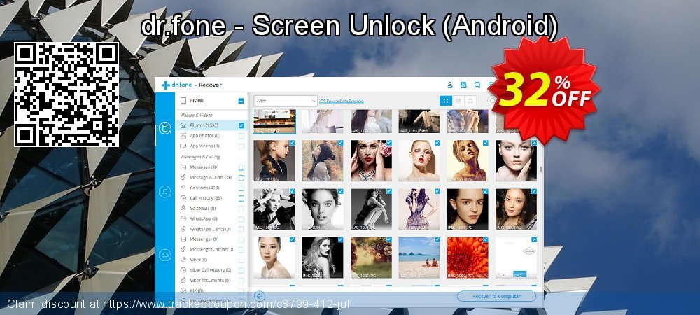dr.fone - Screen Unlock - Android  coupon on April Fool's Day super sale