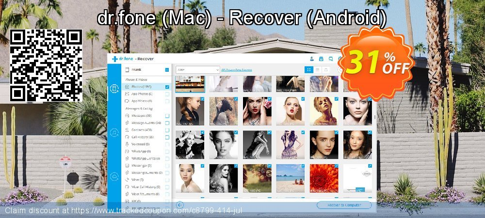 dr.fone - Mac - Recover - Android  coupon on Mid-year deals