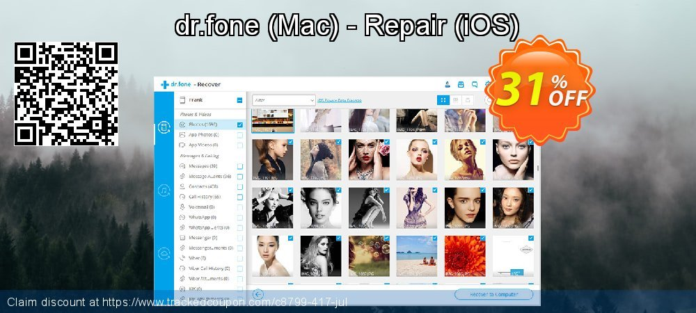 Claim 30% OFF dr.fone (Mac) - Repair (iOS) Coupon discount May, 2019