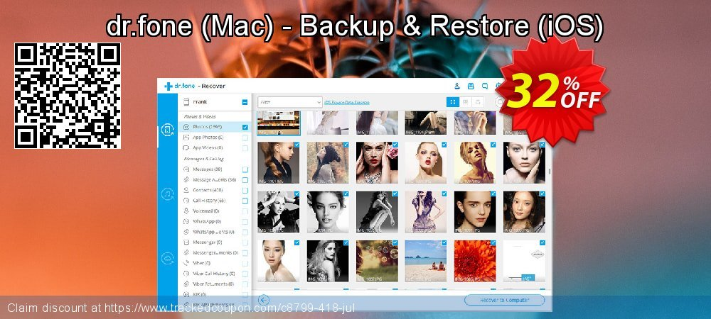 dr.fone - Mac - Backup & Restore - iOS  coupon on Happy New Year sales