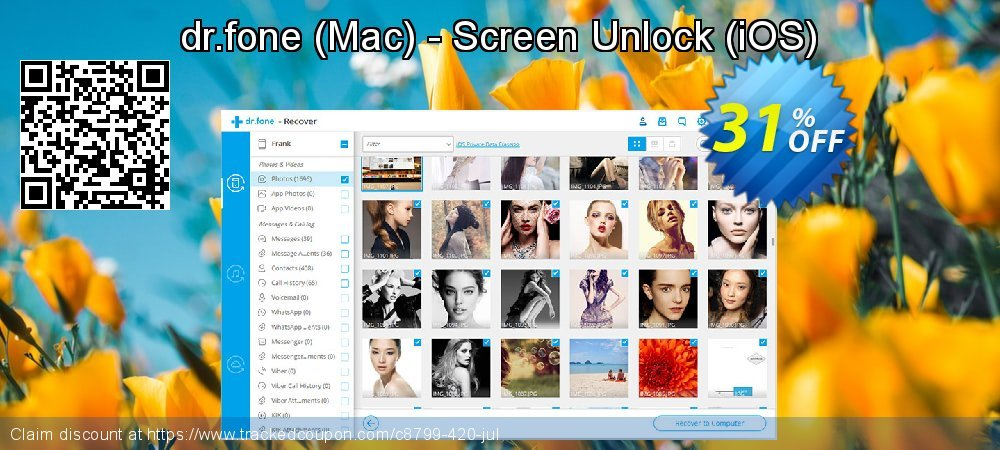 dr.fone - Mac - Screen Unlock - iOS  coupon on Int'l. Women's Day offering discount