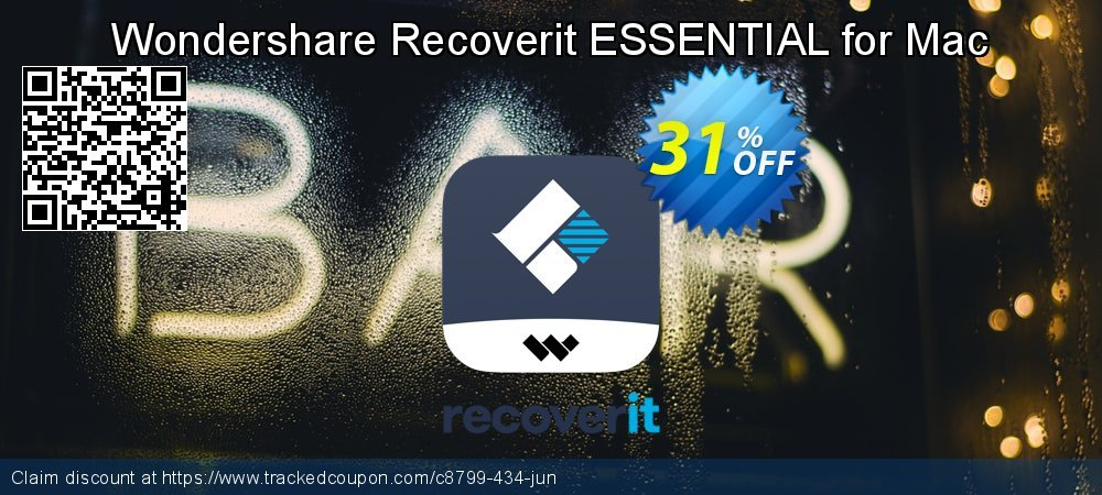 Claim 31% OFF Recoverit ESSENTIAL for Mac Coupon discount July, 2020