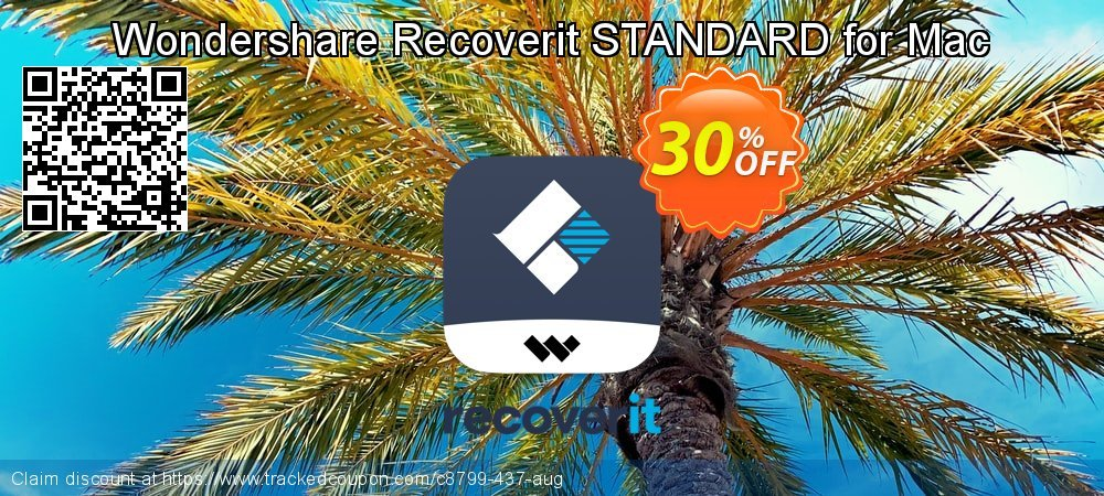 Recoverit STANDARD for Mac coupon on Halloween deals