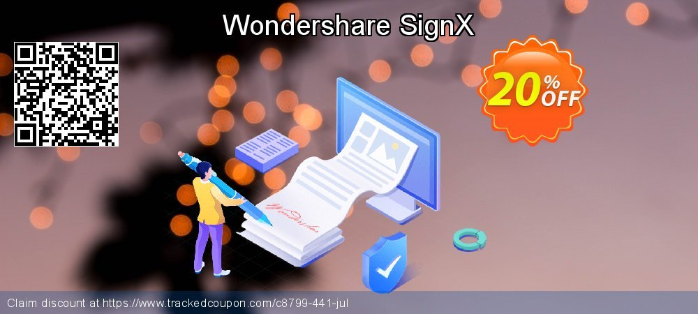 Get 20% OFF Wondershare SignX offering sales