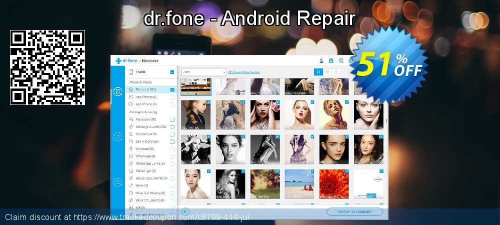 Claim 51% OFF dr.fone - Android Repair Coupon discount June, 2020