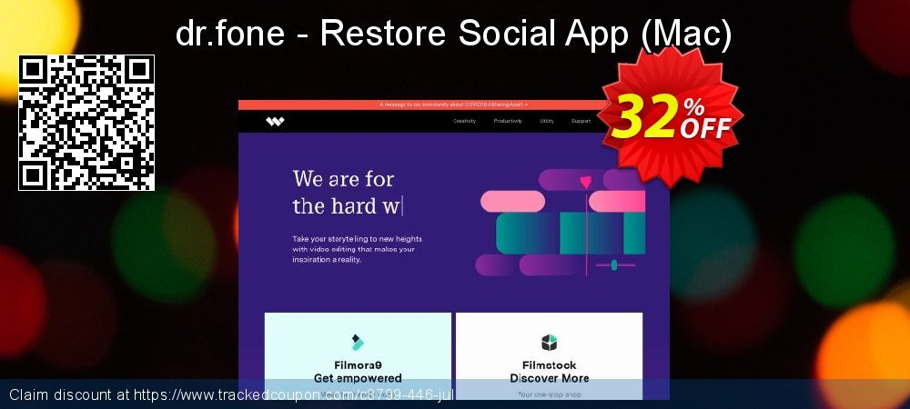 Claim 32% OFF dr.fone - Restore Social App - Mac Coupon discount October, 2020