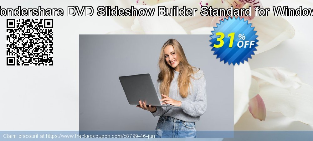 Wondershare DVD Slideshow Builder Standard for Windows coupon on Happy New Year super sale