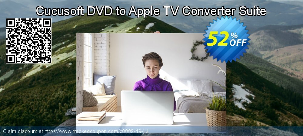 Get 50% OFF Cucusoft DVD to Apple TV Converter Suite offering sales