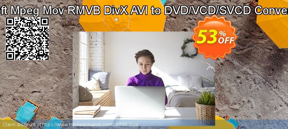 Cucusoft Mpeg Mov RMVB DivX AVI to DVD/VCD/SVCD Converter Pro coupon on Halloween discounts
