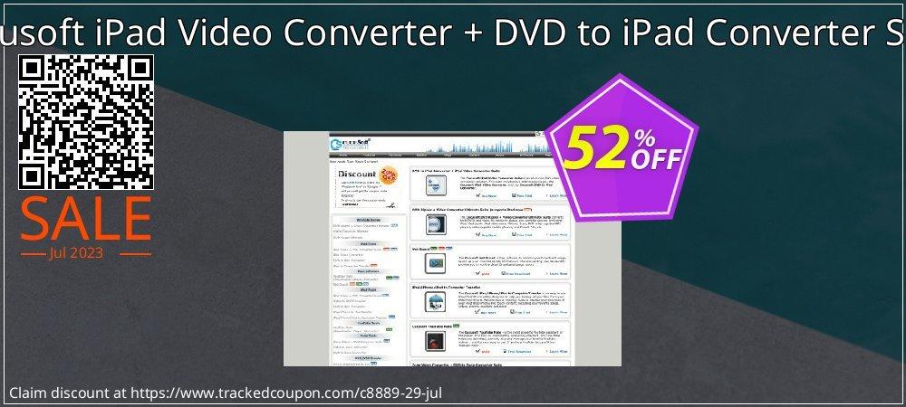 Cucusoft iPad Video Converter + DVD to iPad Converter Suite coupon on Halloween discounts