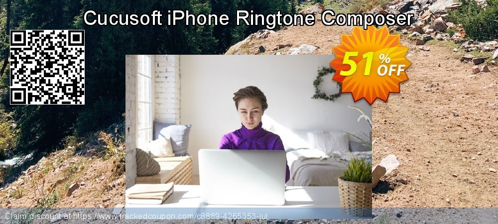 Get 50% OFF Cucusoft iPhone Ringtone Composer discount