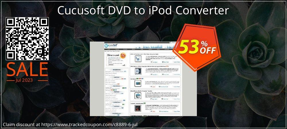 Cucusoft DVD to iPod Converter coupon on Halloween offer