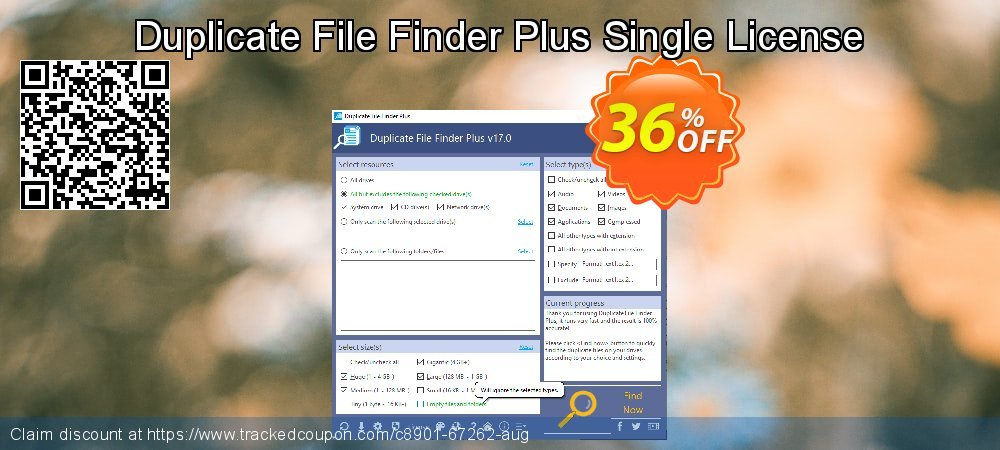 Duplicate File Finder Plus Single License coupon on IT Professionals Day discount