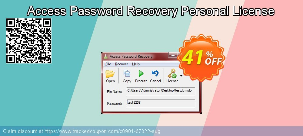 Claim 41% OFF Access Password Recovery Personal License Coupon discount September, 2021