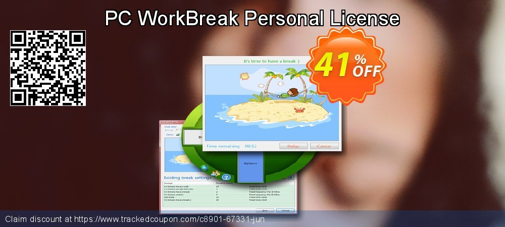 PC WorkBreak Personal License coupon on National Singles Day sales