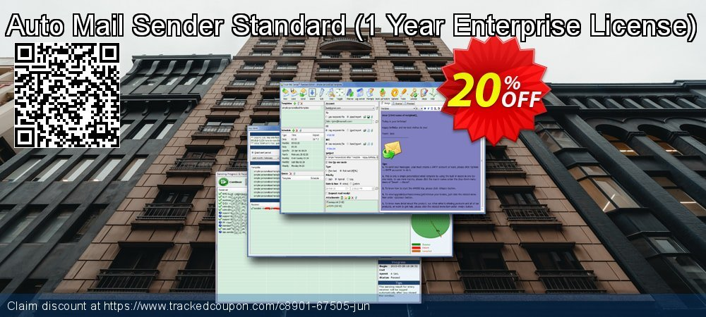 Auto Mail Sender Standard - 1 Year Enterprise License  coupon on Autumn discount