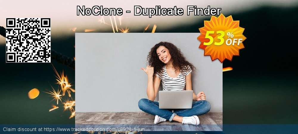 Get 50% OFF NoClone - Duplicate Finder offering discount