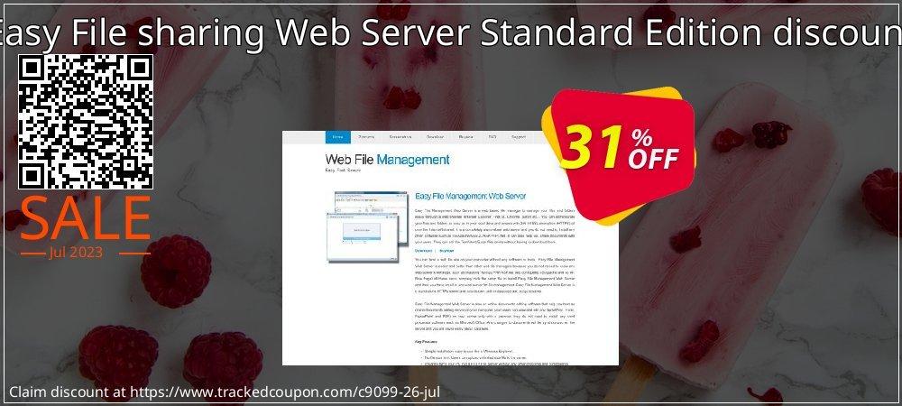 Get 30% OFF Easy File sharing Web Server Standard Edition discount offer