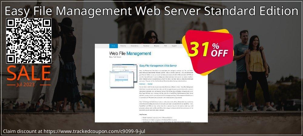Get 30% OFF Easy File Management Web Server Standard Edition offering sales