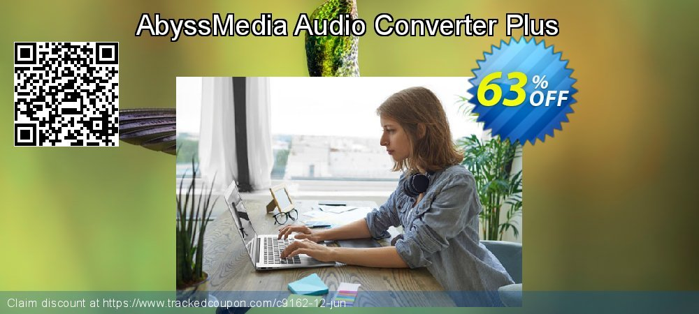 Get 60% OFF AbyssMedia Audio Converter Plus offering sales